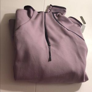 Purple quarterzip